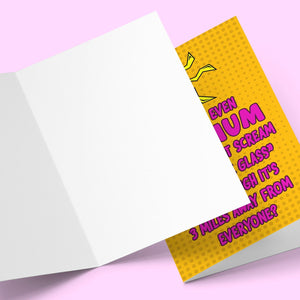 Watch The Glass Mother's Day Card Stationery Prodigi