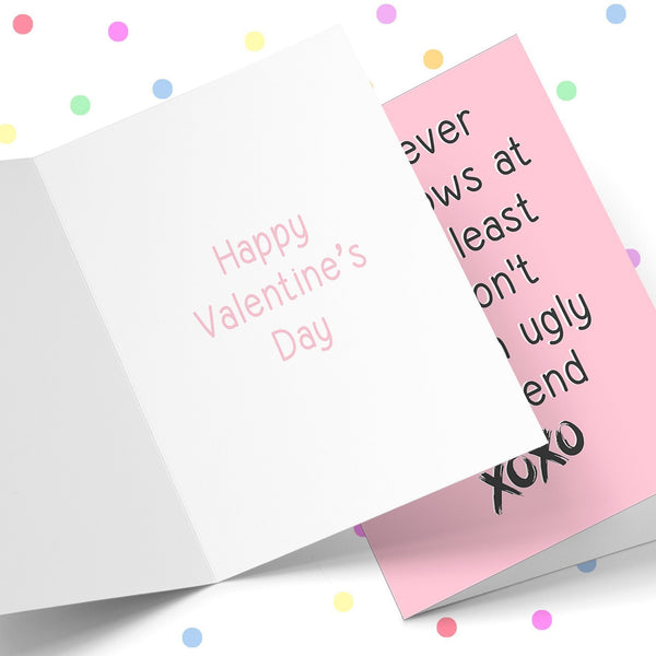 Whatever life Throws At You At least You Don't Have An Ugly Girlfriend Greeting Card Stationery Prodigi