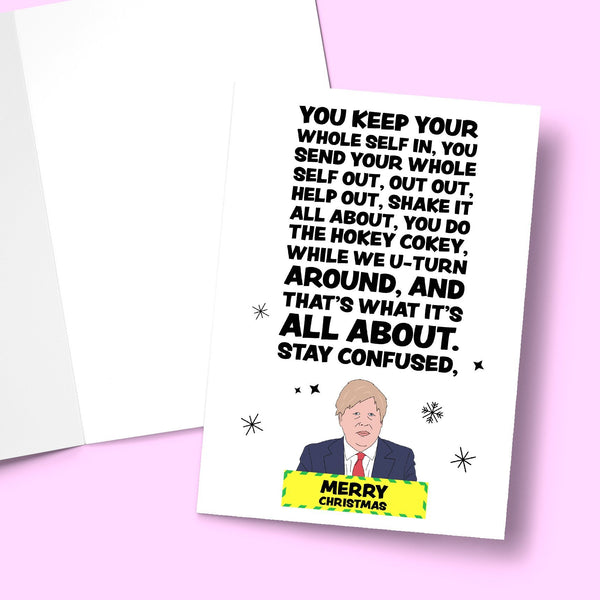 You keep your whole self in, you send your whole self out Greeting Card Stationery Prodigi
