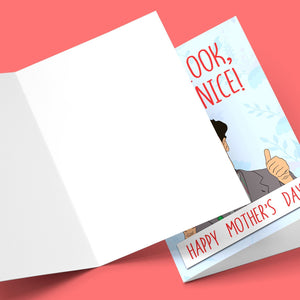You Look Very Nice Mother's Day Card Stationery Prodigi