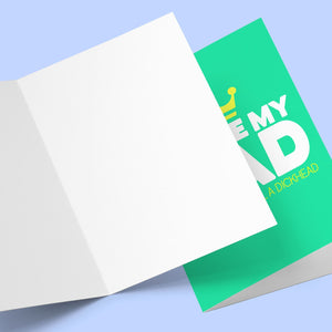 You're My Dad But You're Dick Greeting Card Stationery Prodigi