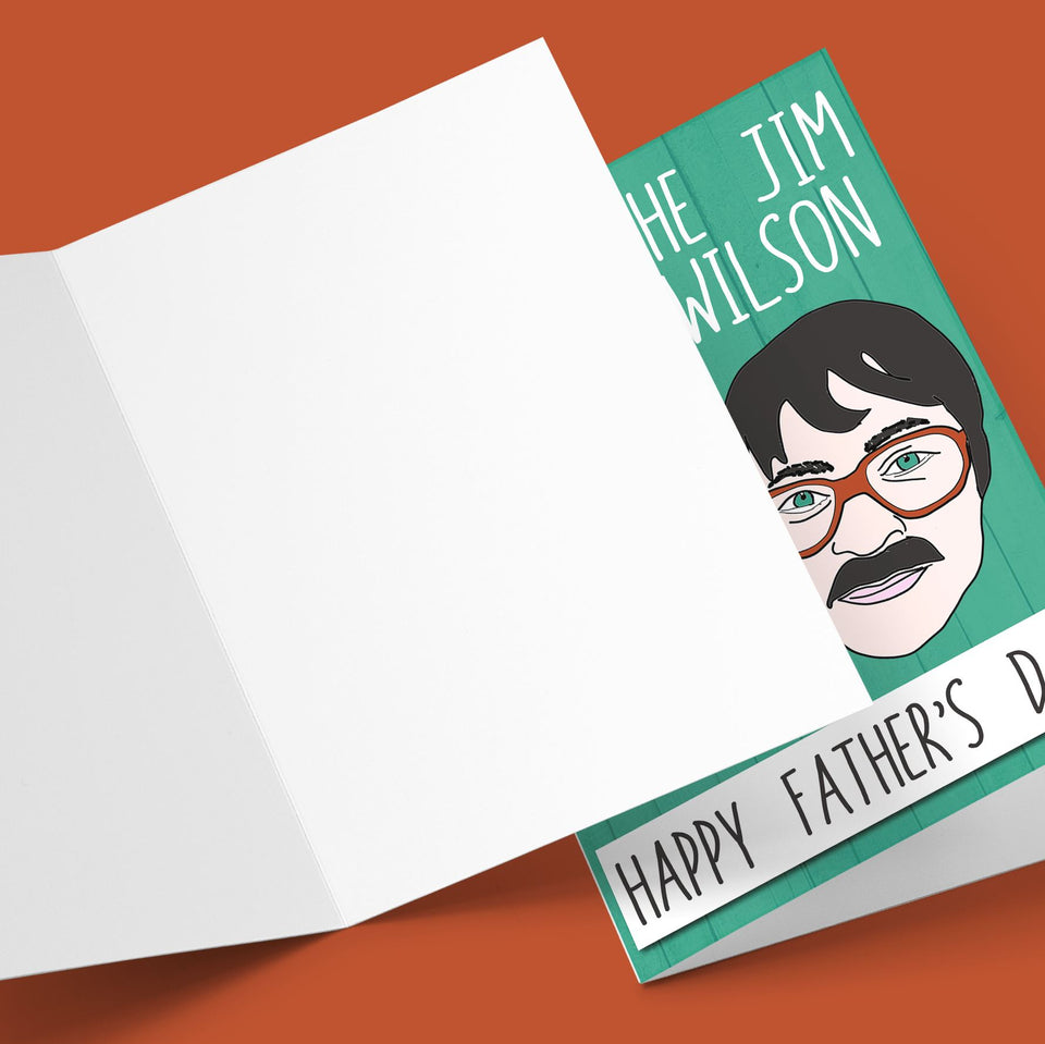 You're The Jim To My Wilson, Farther's Day Card Stationery Prodigi