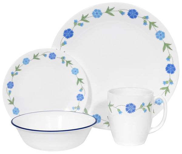 CORELLE Livingware Spring Blue 16-pc Set
