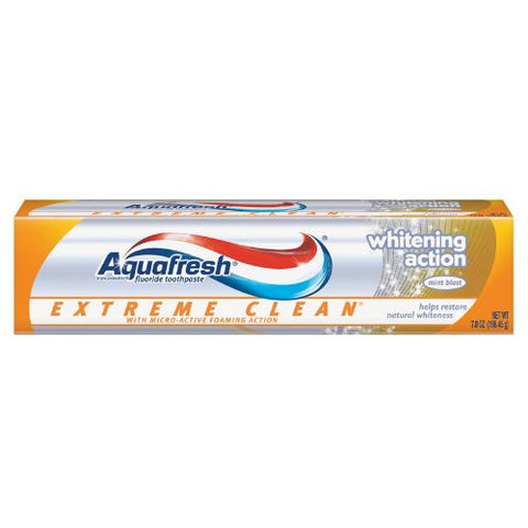 Aquafresh Extreme Clean Toothpaste 6.7 Oz. (Pack of 6)
