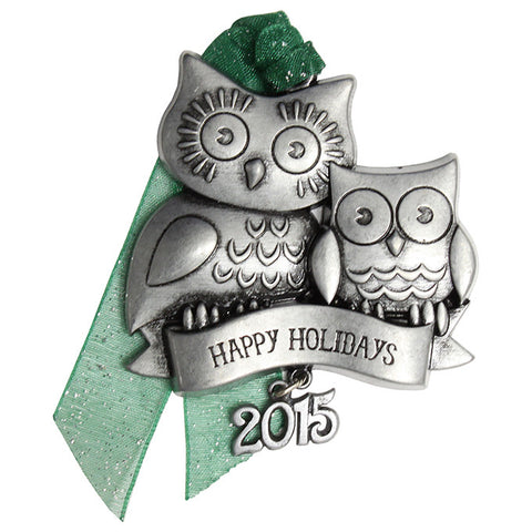 Gloria Duchin Holiday Owl