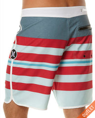 HURLEY PHANTOM 60 BLOCK PARTY WARP BOARDSHORT - LIGHT BLUE