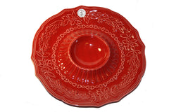 Cerutil Christmas Chips & Salsa Dish Bowl