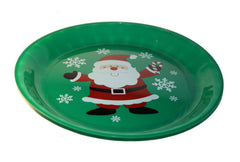 Christmas Santa Round Serving Tray