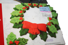 Christmas Holly Leaf Cookie Pan