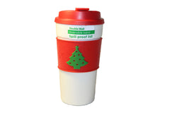 Christmas Coffee Tumbler for Hot & Cold Drinks