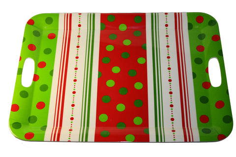 Candy Cane Serving Tray