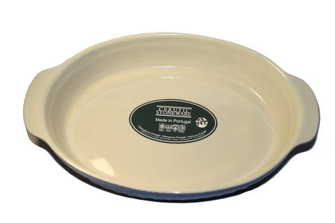 Cerutil Stoneware Oval Bakeware Blue - Made in Portugal
