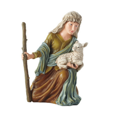 Nativity 14pc. Set, Hand Painted