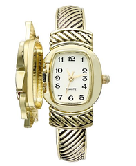 Charter Club Watch, Women's Gold Tone Bangle Bracelet 22mm