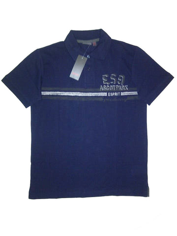 Esprit Men's Polo Shirt Blue (XS)