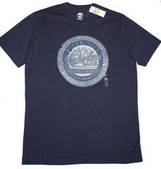 Timberland, Men's Short Sleeve Circular Tree Logo T-Shirt (L)