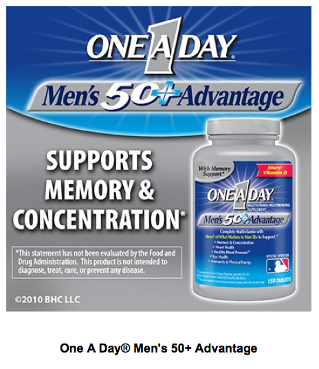 One A Day® Men's 50+ Advantage - 150 Tablets