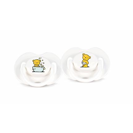 Philips AVENT Bear Pacifiers SCF121/11 0-3m