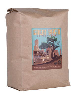 5 pound bag of medium dark roast coffee