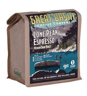12 ounce bag of medium dark roast espresso coffee