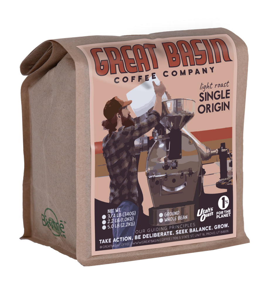 12 ounce bag of light roast coffee