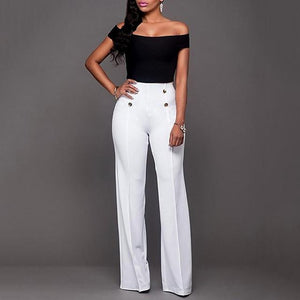 WCCA - Elegant casual harem high waist long pants