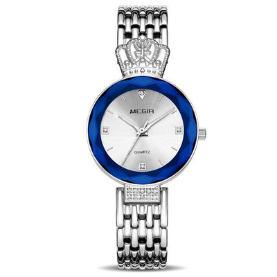 WWA - Queen Design Stainless Steel Ladies Watch - M7598