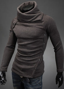 New Men's Turtleneck Cotton Sweater