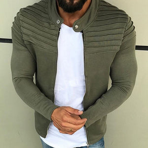 Autumn 2019 Casual Chic Men's Slim Fit Jacket