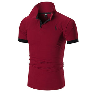 Men's High Quality Fashion Embroidered Polo Shirt