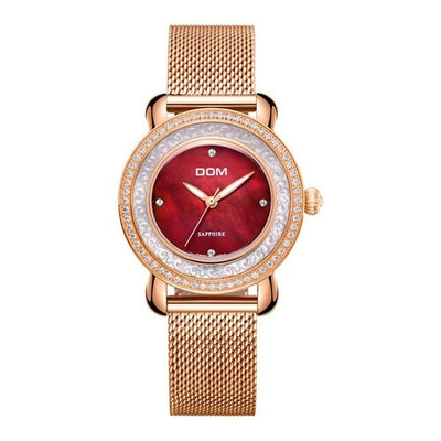 WWA - High Quality Sapphire Genuine Leather Watch - D9473