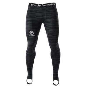 Men's Bodybuilding Workout Compression Trousers