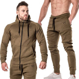 MCCA - Men's Comfortable 2 pieces Running Tracksuit