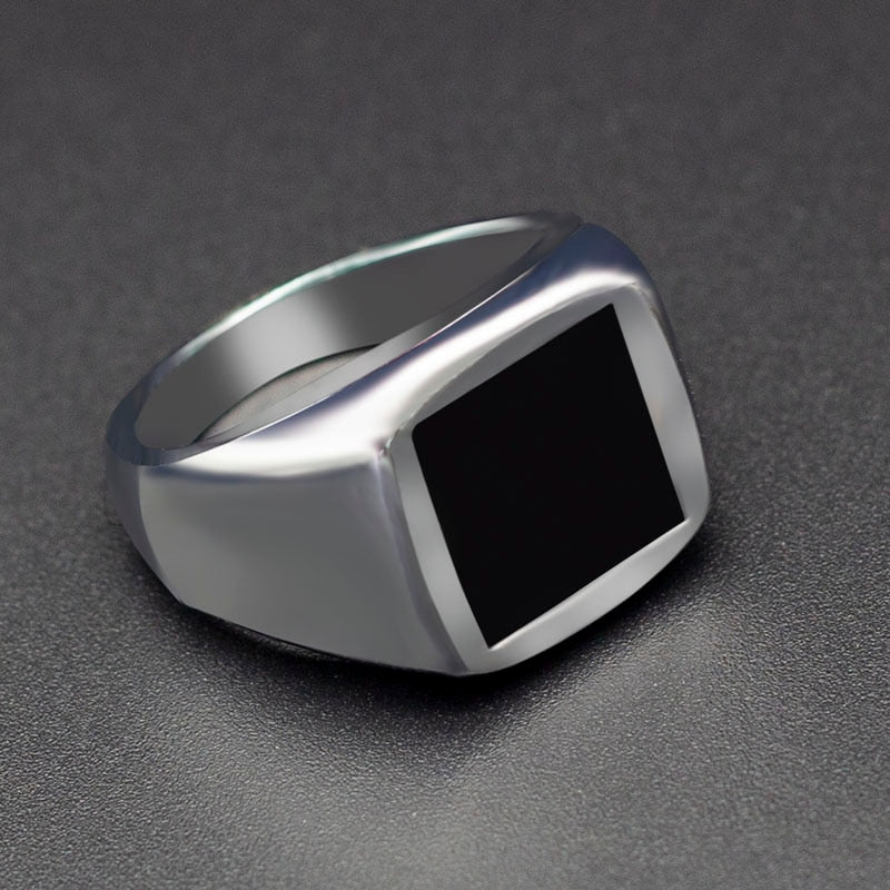 MWA - Beautiful Square Big Width Signet Ring