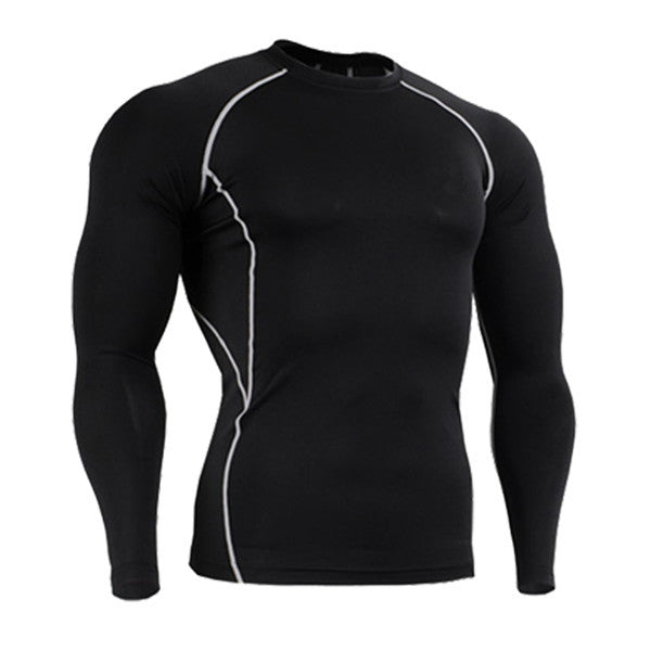 Men's Workout Tight Compression Shirt