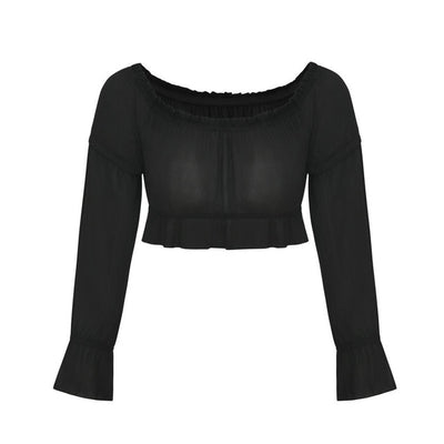 WCL - Amazing Long Sleeves Off-The-Shoulder Shirt