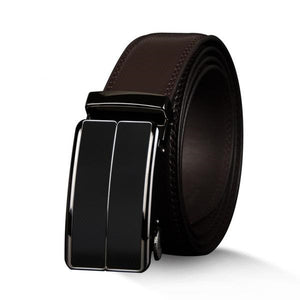 High Quality Genuine Cow Black/Brown Leather Belt for Men