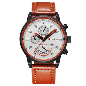 Luxury Leatherwrist Casual Watch - Ref LCW0080