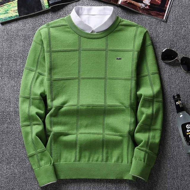 Autumn Winter 2020 Elegant O-Neck Solid Color Cashmere Sweaters