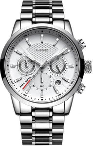 Luxury Stainless Steel Business Watch - Ref SBW0099