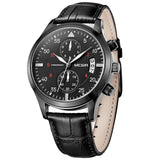 Leatherwrist Casual Watch - Ref LCW4356