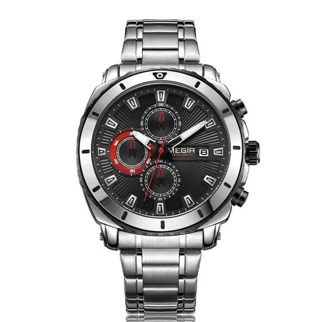 Luxury Stainless Steel Casual Watch - Ref SCW0158