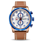 Hot Summer 2019 Leather Band Casual Watch - Ref LCW8954