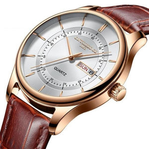 Luxury Leatherwrist Business Watch - Ref LBW0036