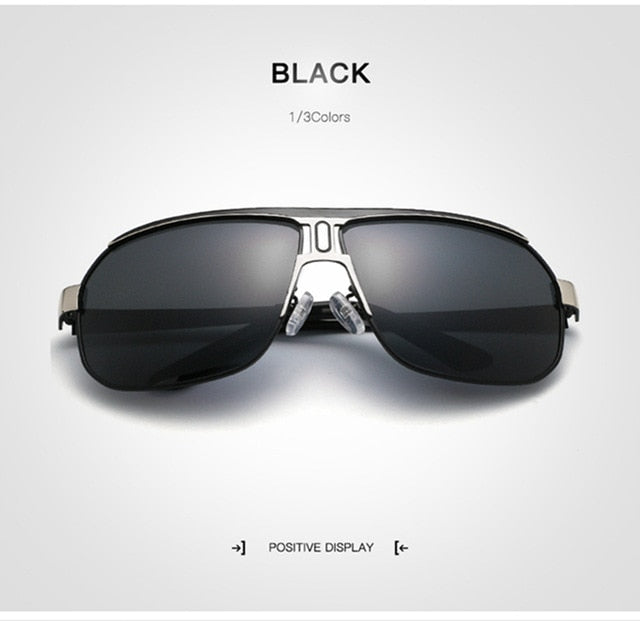 New Summer 2019 Pilot Polarized Men's Sunglasses