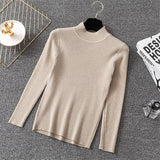 WCCA - Chic tuttleneck knitted sweater