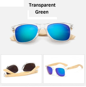 Retro Wood Stylish Sunglasses for Men