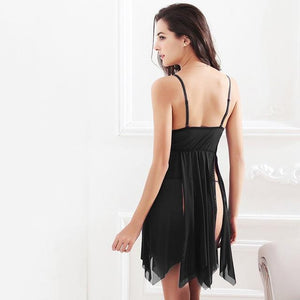 hot nightwear beautiful lace slits lingerie