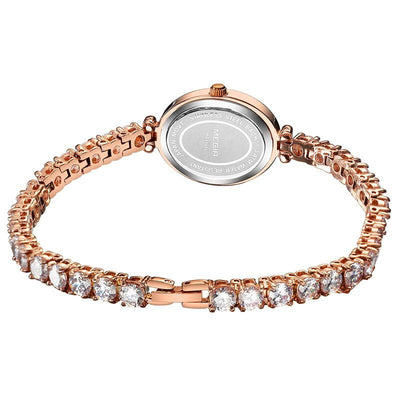 WWA - Luxury Diamond Bracelet Watch - M3488