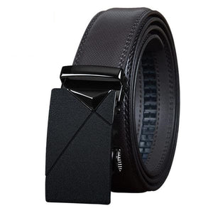 High Quality Genuine Cow Leather All Black & Brown Belt for Men